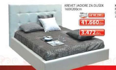 Krevet Jadore za dušek 160x200cm