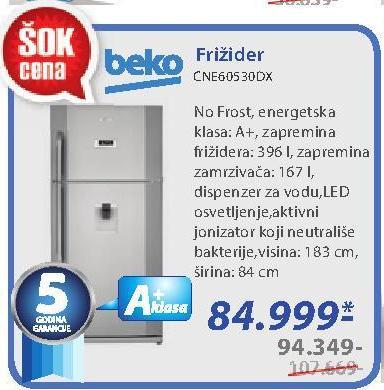 Frižider CNE60530DX