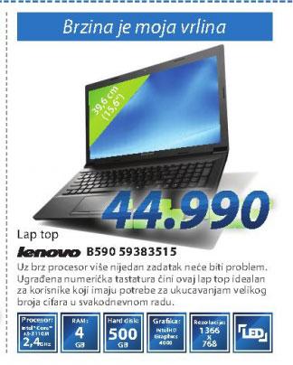 Laptop računar IDEAPAD B590 59383515
