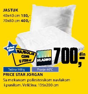 Jastuk 40x40 cm