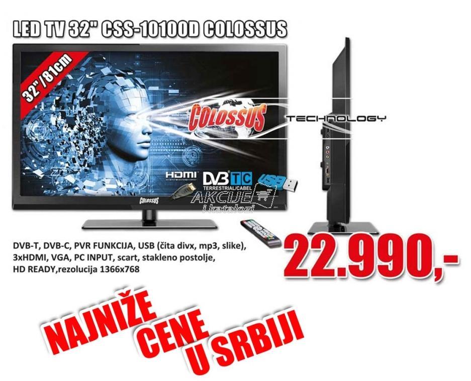 """Televizor LED 32"""" CSS-10100D"""