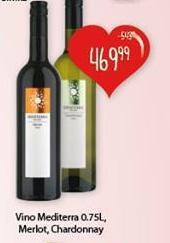 Crno vino Merlot Mediterra