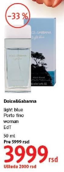 Toaletna voda Porto Fino