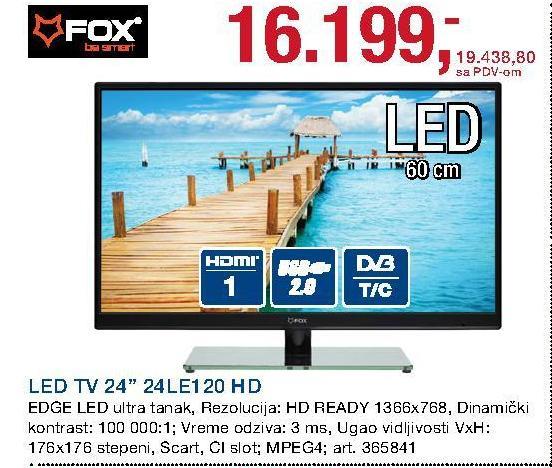 "Televizor LED 24"" 24LE120 HD"
