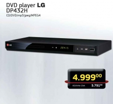 DVD player DP432H