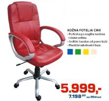 Fotelja kožna CMX