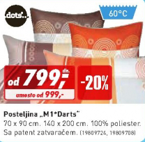 Posteljina  ''M1 Darts''