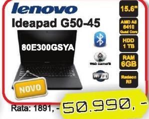 Laptop Ideapad G50-45 80e300gsya