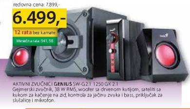 Zvučnici SW-G2.1