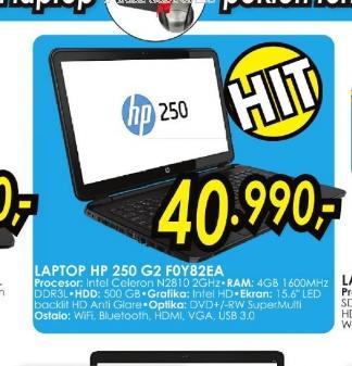 Laptop 250 G2 F0Y82EA
