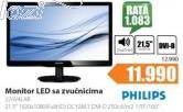 Monitor  226V4LAB/00 LED sa zvučnicima