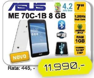 Tablet ME 70C-1B 8 GB
