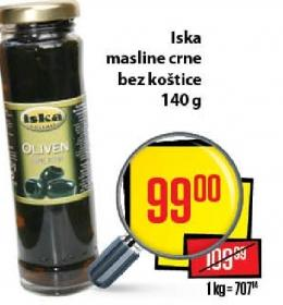 Maslina crna b/k