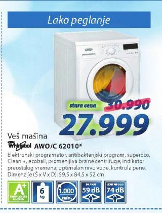 Veš mašina AWO/C 62010