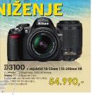 DIGITALNI SLR  FOTOAPARAT D3100 + OBJEKTIV