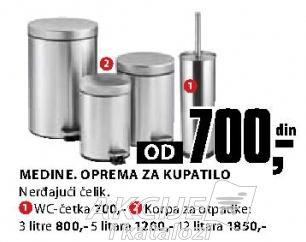 Medine oprema za kupatilo