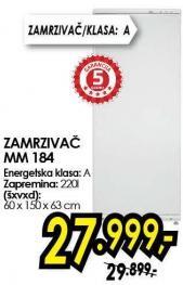 Zamrzivač  Mm 184