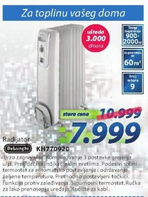 Uljani radijator KH770920