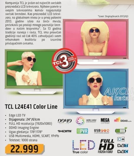 """Televizor LED 24"""" L24e41 Color Line"""