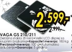 Vaga Gs 210, 211
