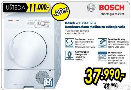 Mašina za sušenje veša Wtc84102by