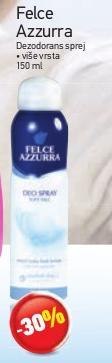 Sprej dezodorans Felce Azzurra