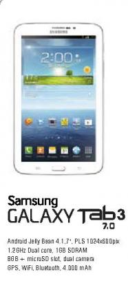 Mobilni telefon Galaxy Tab3 7.0