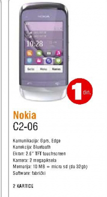 Mobilni telefon C2-06