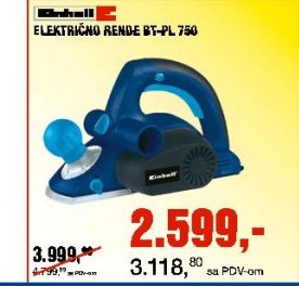 Električno rende GT-PL750