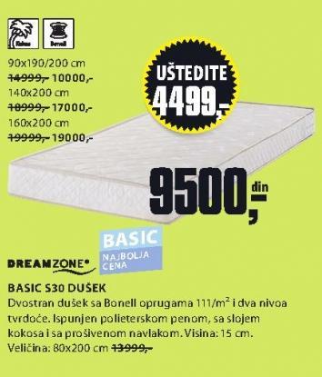 Dušek Basic S20 80x200