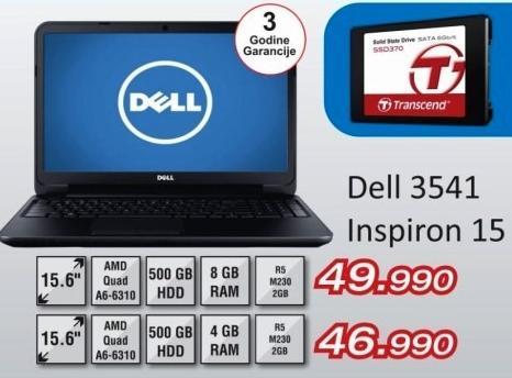 Laptop Inspiron 15