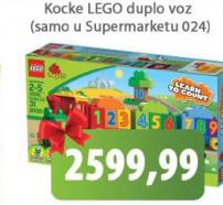 Kocke Lego suplo voz