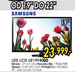 Televizor LED LCD UE-19F4000