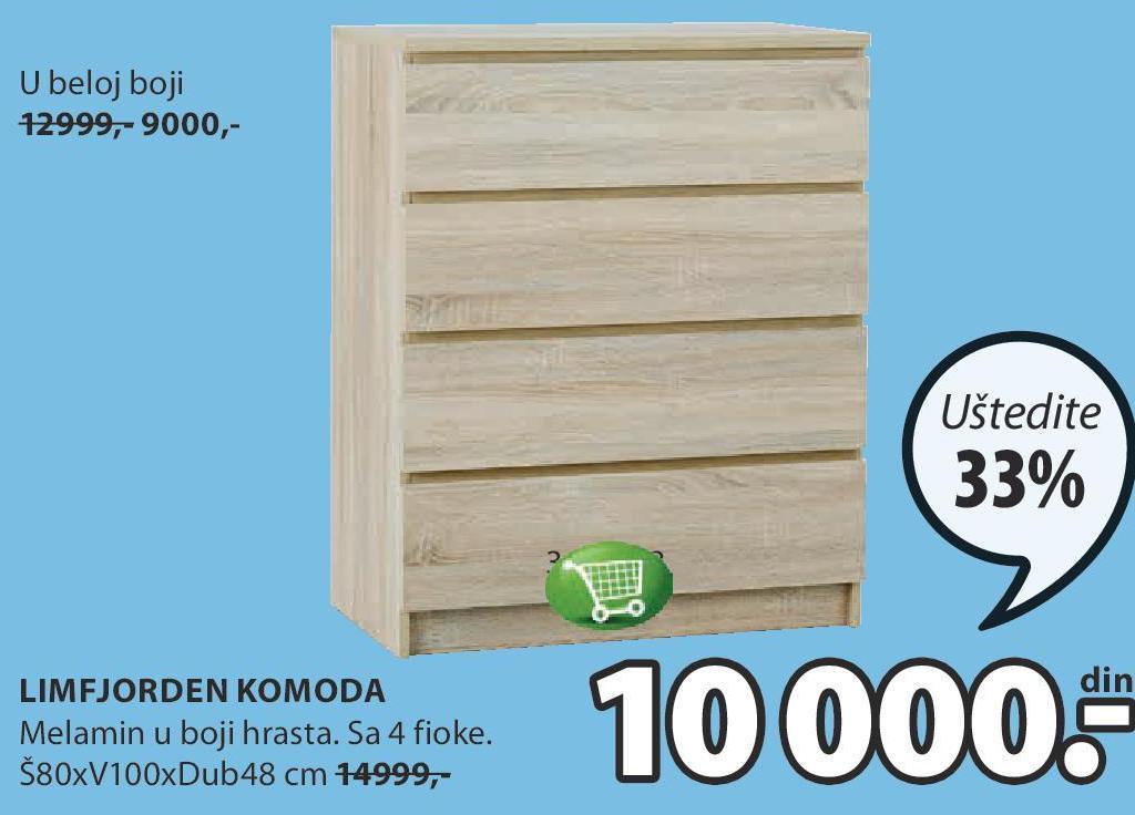 Akcija Jysk Komoda Limfjorden 897999