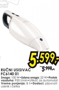 Ručni Usisivač FC6140 01