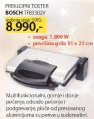 Preklopni toster TFB3302V