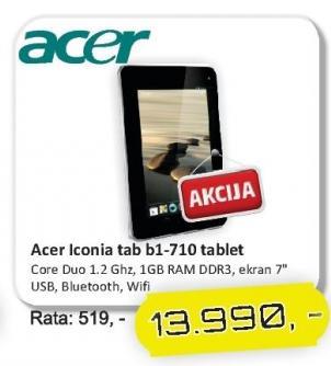 Tablet Iconia Tab B1-710