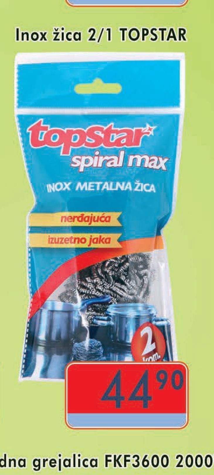 Žica za sudove inox