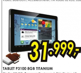 Tablet  Galaxy Tab 2 P3100