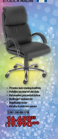 Stolica Nadir