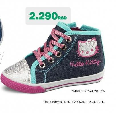 Dečije patike Hello Kitty
