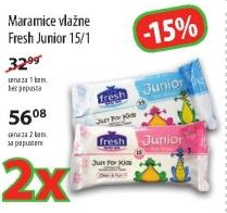 Vlažne maramice junior