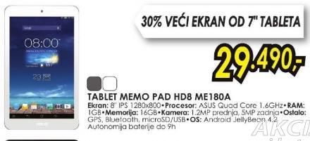 Tablet MeMO Pad ME180A-1B021A