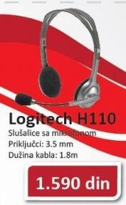 Slušalice sa mikrofonom H110