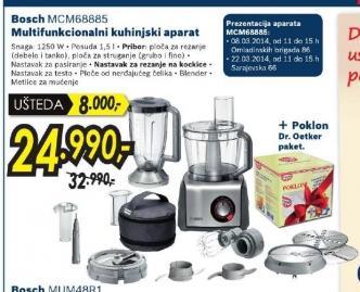 Multifunkcionalni kuhinjski aparat  MCM68885