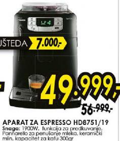 Aparat za espresso HD8751/19