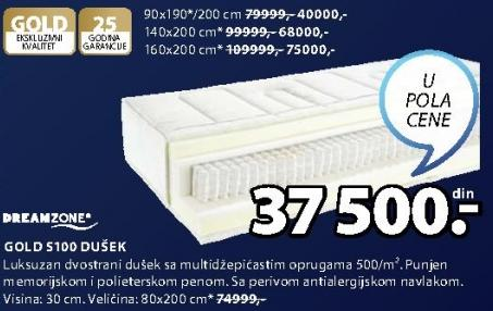 Dušek Gold S100 90x190/200cm