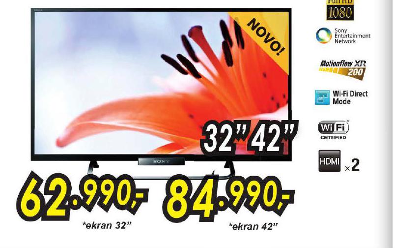 Televizor LED KDL32W650ABAEP