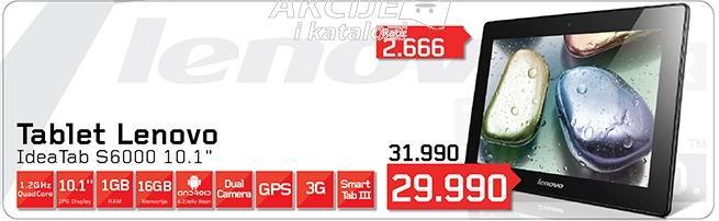 Tablet Idea pad S6000