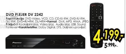 DVD plejer Dv 2242
